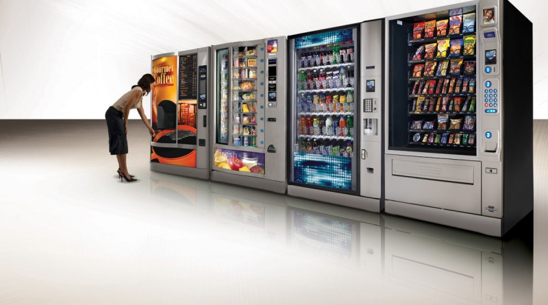 Franchising in the field of installation of vending machines