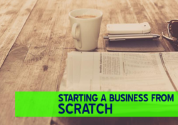 Business ideas from scratch